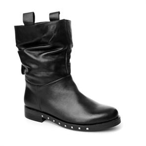 SİYAH Kadın Bot MS- 1005-43 JOHN MAY LEATHER BLACK