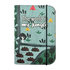 Kadın Pasaport Kılıfı DGS020-PC003 Dogo Passport Cover  The Adventure