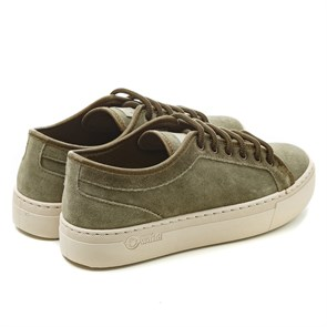 Kadın Sneaker 6158  NATURAL WORLD BASKET NW ON SUEDE TINT. Kaki