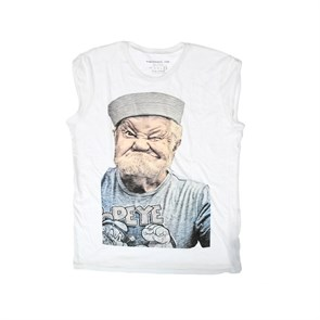Kadın T-Shirt   OLD POWER RUDE - WOMEN