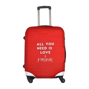Kadın Valiz DGS020-LSC001 Dogo Luggage Shirt Cabin Love and Passport