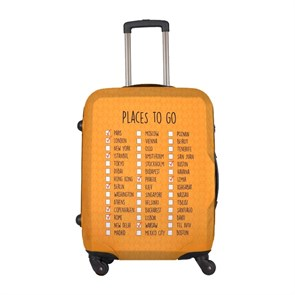 Kadın Valiz DGS020-LSC005 Dogo Luggage Shirt Cabin Places To Go
