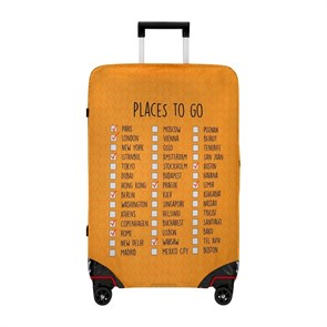 Kadın Valiz DGS020-LSM008 Dogo Luggage Shirt Medium Places To Go