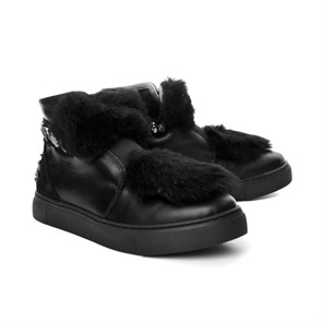 Pegia Kadın Bot yt TM 157608 PEGIA TOSCANA LEATHER BLACK