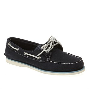Timberland LACİVERT Erkek Marin 6169A TIMBERLAND CLS2I BOAT NAVY SUED BLUE