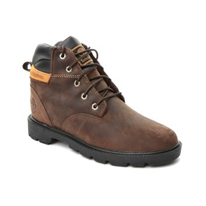 Timberland KAHVERENGİ Kadın Bot CA1I2D LEAVITT WP LACE BOOT MEDIUM BROWN CONNECTION