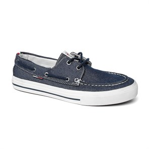 Tommy Hilfiger Erkek   TM EM56820827 403 TOMMY HILFIGER V2385IC 7F SNEAKERS MIDNIGHT