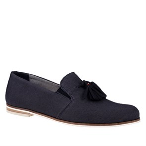 Tommy Hilfiger Kadın Loafer  TM FW0FW00332 404 A1385BBY 1C OTHER SHOES DENIM