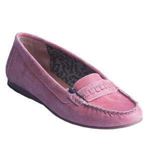 Tommy Hilfiger Kadın Loafer  TM EN56818730 TOMMY HILFIGER PENLEY 6Z 691 FADED ROSE