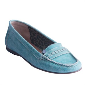 Tommy Hilfiger Kadın Loafer  TM EN56818730 TOMMY HILFIGER PENLEY 6Z 436 POOL BLUE