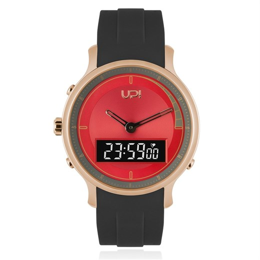 UP Watch Unisex Saat   1034 UPWATCH DOUBLE ROSE&RED